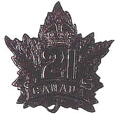 21st Battalion badge